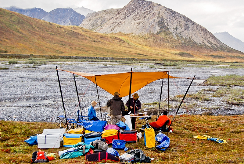 Camping on the Tundra