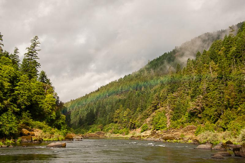 Rainbow at Tate Creek