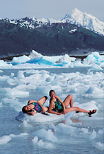 alsek lake tlingits bathing_glacier bay national park_Mt Fairweather